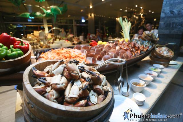 Seafood Market Buffet at Pullman Phuket Arcadia Naithon Beach