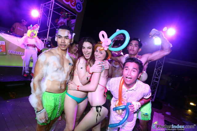 Foam Party by AIS Traveller SIM at Centra Ashlee Hotel Patong