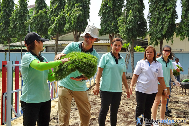 Hilton Phuket Arcadia Resort & Spa celebrates annual Hilton worldwide global month of service