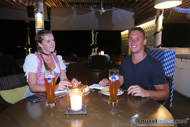 Oktoberfest BBQ dinner at Hyatt Regency Phuket Resort