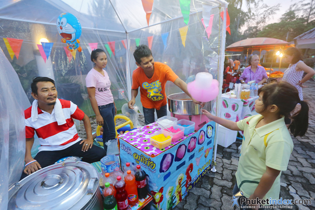 """Talad Canal"" weekend market at Canal Village, Laguna Phuket"