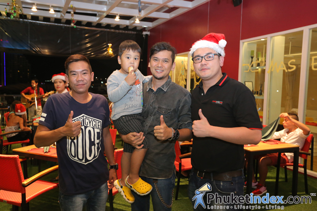 01Celebrate X Mas Eve at SANOOK WITH ME pool bar and sky lounge
