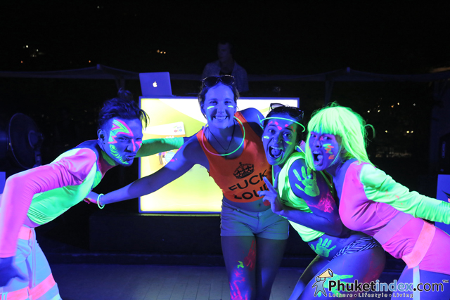 Glow Night Foam Party at Centra Ashlee Hotel Patong