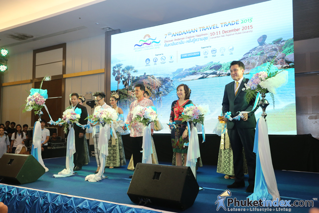 The 7th Andaman Travel Trade 2015 at Phuket Rajabhat University