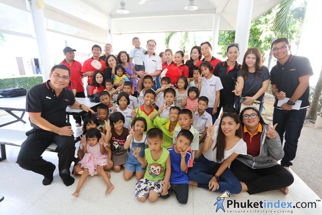 SLEEP WITH ME HOTEL donated to the children at Phuket Sunshine Village Foundation