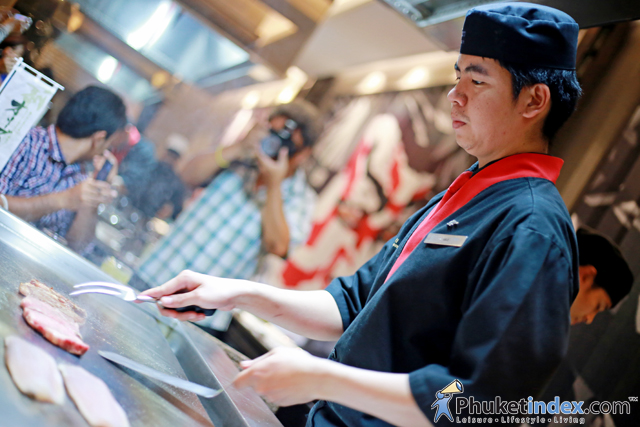 Sanuki Olive Beef event at JW Marriott Phuket Resort & Spa's Kabuki Japanese Cuisine Theatre