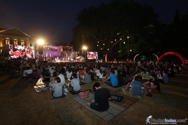 Nice Scene Green Song concert #7 at Blue Elephant Phuket
