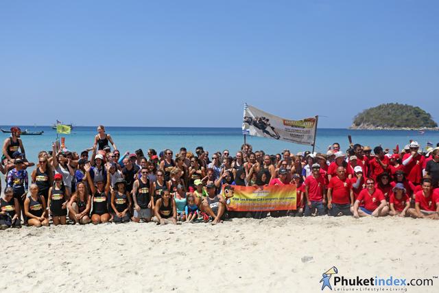 Clean The Beach Boot Camp at Kata Beach