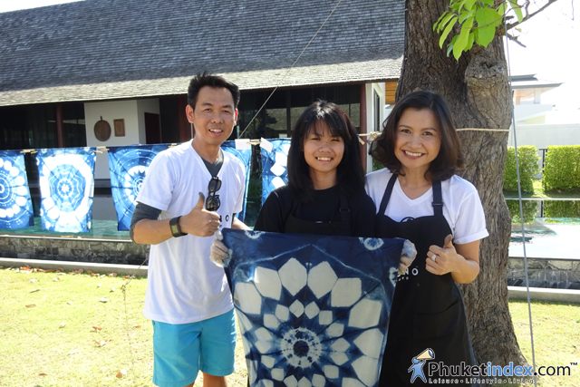 """Shibori DIY workshop"" by Mono Phuket"