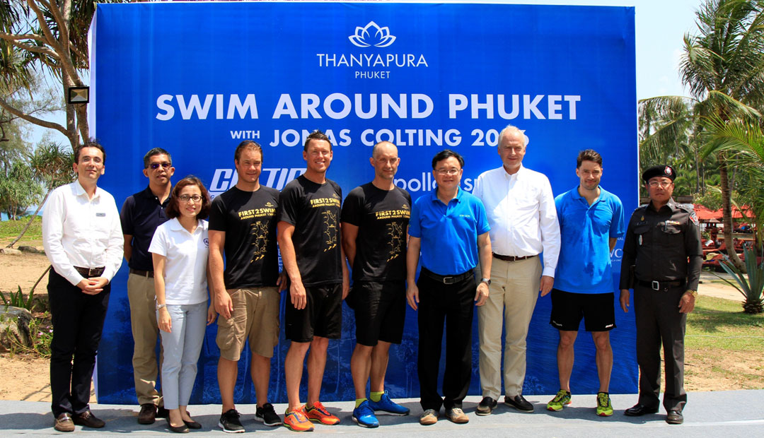 "First ""Swim Around Phuket"" Makes History"
