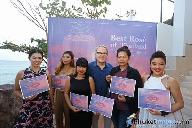 The Nai Harn celebrated thenewly opened Rock Saltrestaurant