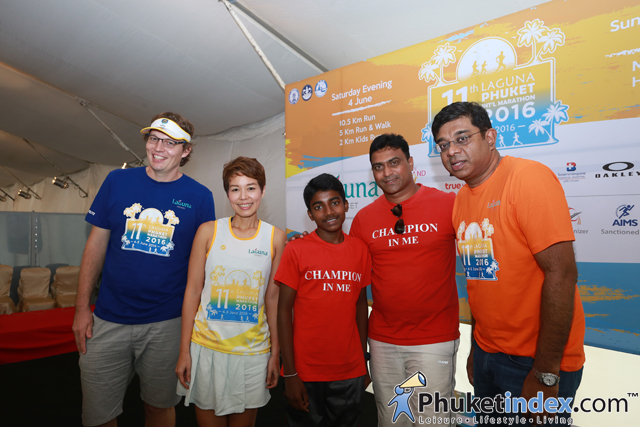 Press Conference – Laguna Phuket International Marathon 2016