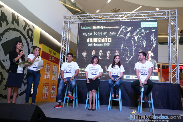 "Press Conference ""Laguna Phuket presents Big Body+ Charity Concert 2016"""