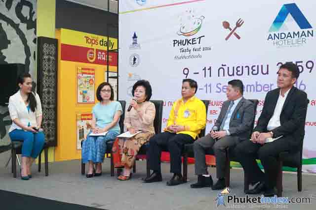 """Phuket Tasty Fest 2016"" and ""Andaman Hotelier and Tourism Fair 2016"" – Press Conference"