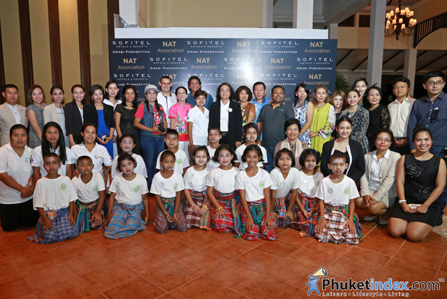 NAT Association and Sofitel Krabi Phokeethra joined together for child project