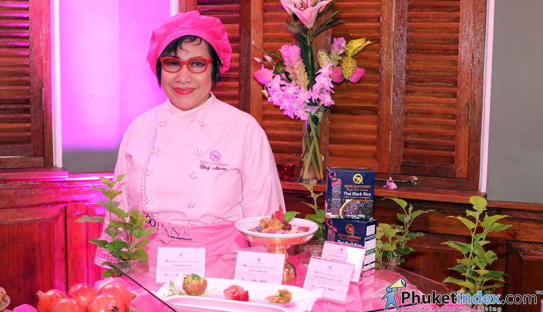 GO PINK with Chef Nooror set menu for QSCBC