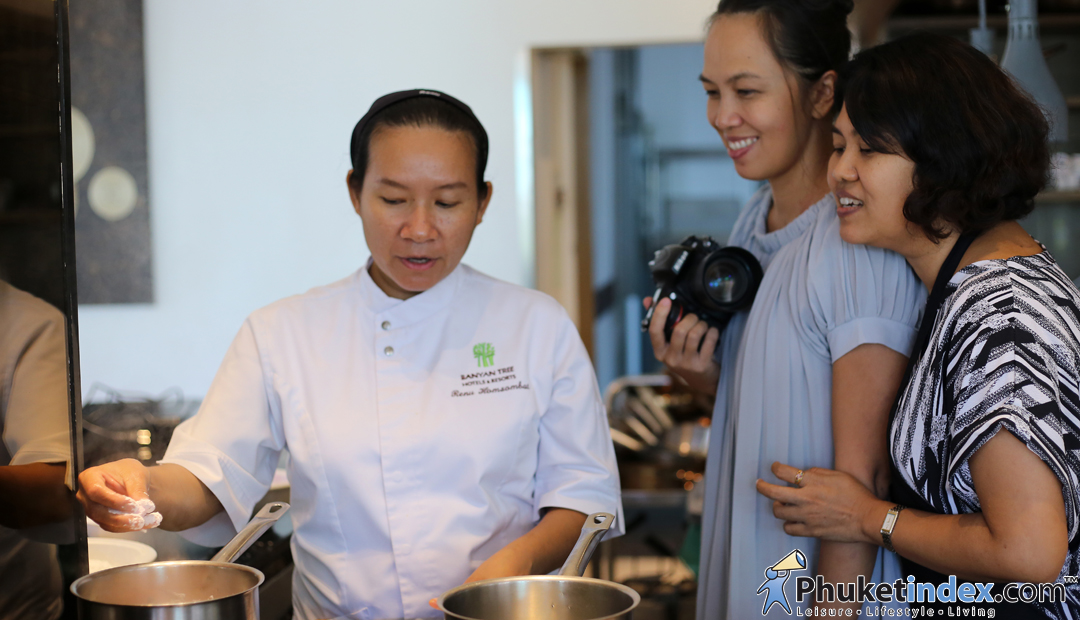Cooking class with Chef Renu – Banyan Tree Phuket