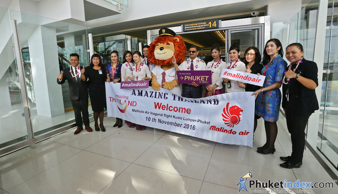 Welcome Malindo Air to Phuket