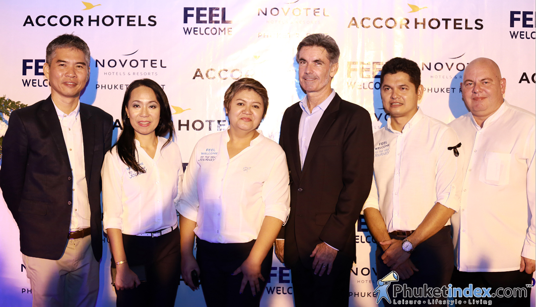 Re-Opening party of the Novotel Phuket Resort