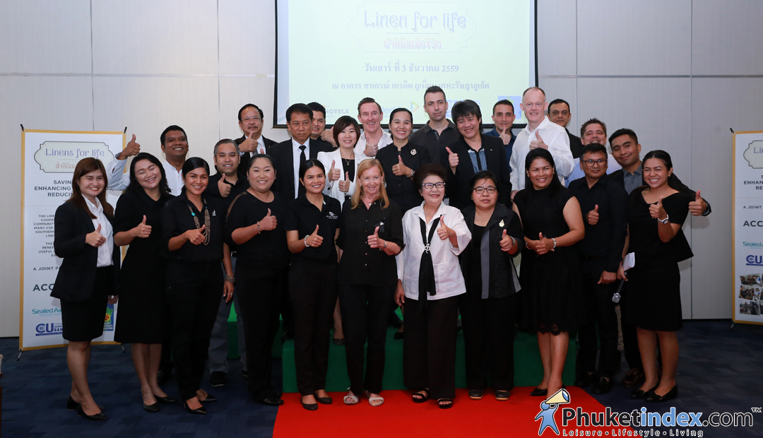 Linens for Life Project with Southern Accor Hotels
