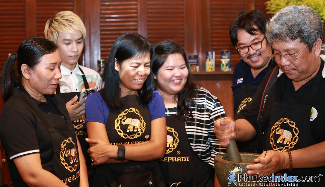 Cooking class @Blue Elephant Phuket
