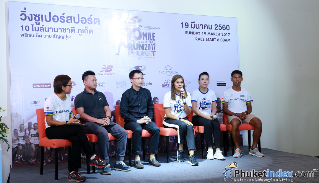Press conference – Supersports 10 mile international run Phuket