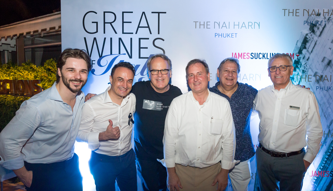 Great Wine of Italy for Phuket News From The Nai Harn Phuket