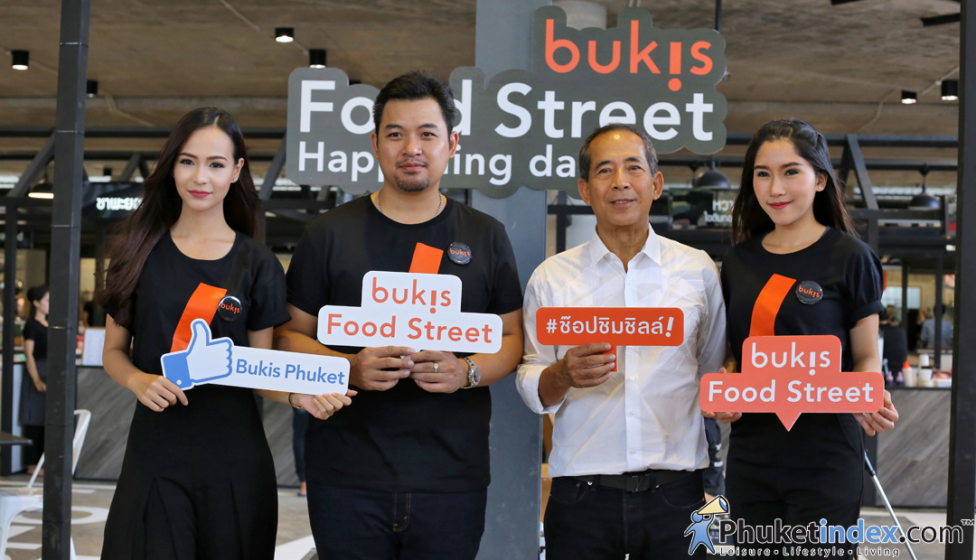 Bukis Food Street Happening Day