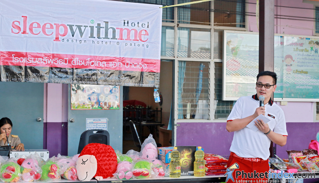 "Donate for Child"" with SLEEP WITH ME HOTEL PATONG"
