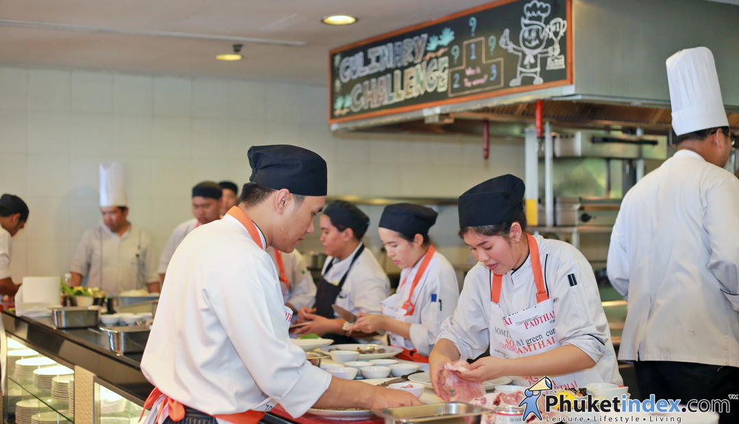 JW Marriott Phuket Trainee Chef's Cooking Battle