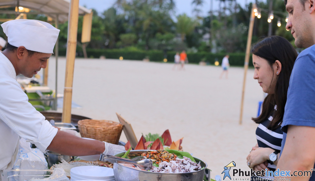 Street Food On The Beach @Phuket Marriott Resort and Spa, Nai Yang Beach