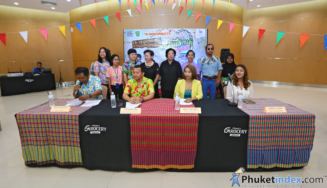 Press Conference - Songkran 2017 Festival by Phuket Grocery