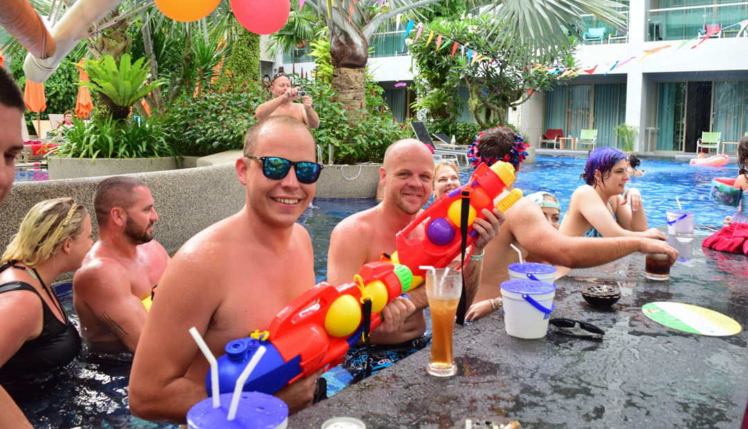 Songkran Festival 2017 @ The KEE Resort & Spa