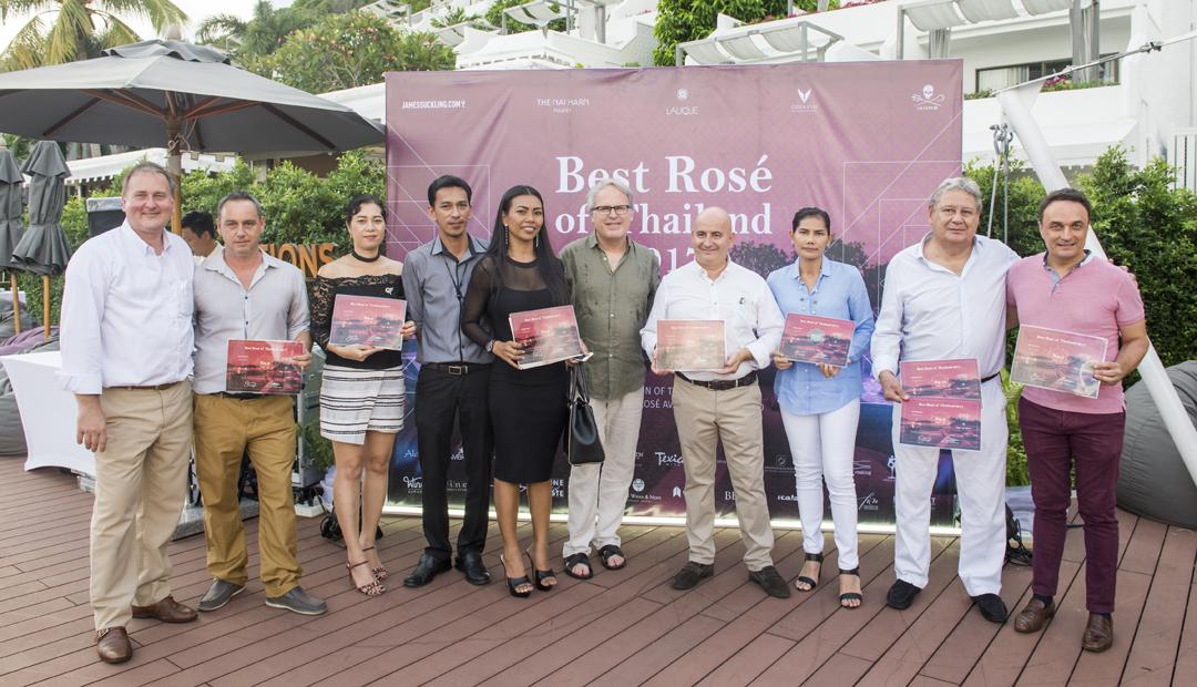 BEST ROSÉ of THAILAND 2017 @The Nai Harn Phuket