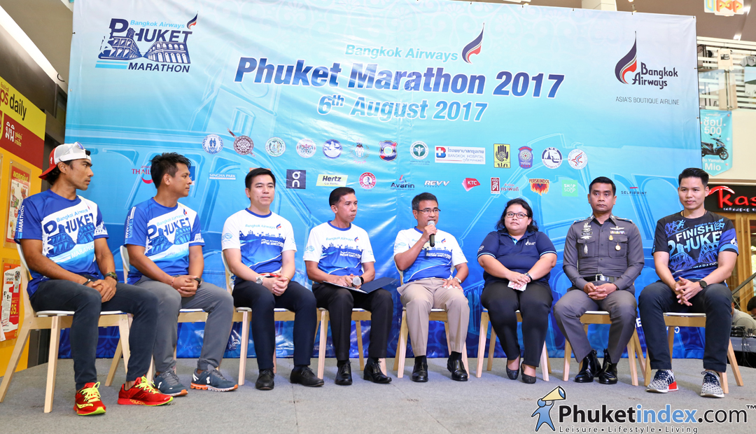 Press conference – Bangkok Airways Phuket Marathon