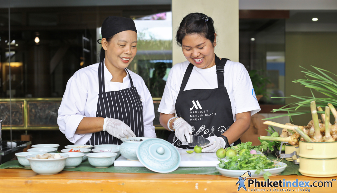 Thai Pantry Cookery Class at Phuket Marriott Resort & Spa, Merlin Beach