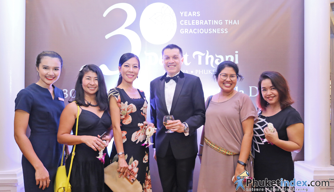 The 30th Anniversary Charity Gala Dinner of Dusit Thani Laguna Phuket