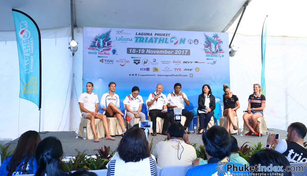 Pre-Race Press Conference – Laguna Phuket Triathlon 2017