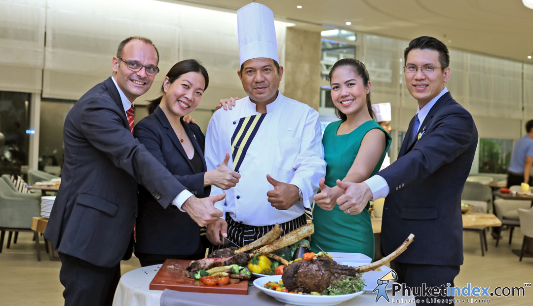 Bonap' Buffet at AMOR the international cuisine