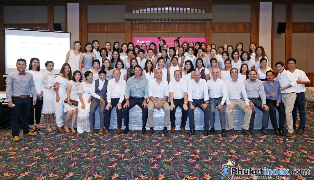 """The Women in Leadership"" at  Phuket Marriott Resort & Spa, Merlin Beach"