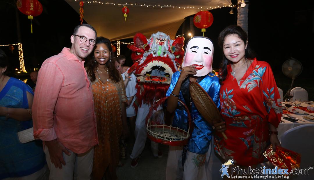 Chinese buffet dinner at Silk, Andara Resort & Villas
