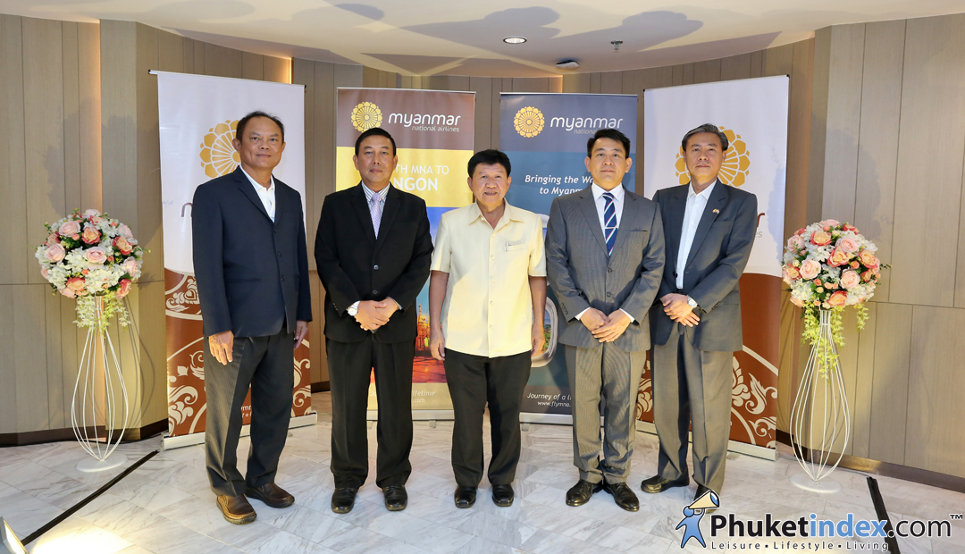 Launching Ceremony of Phuket – Yangon Services