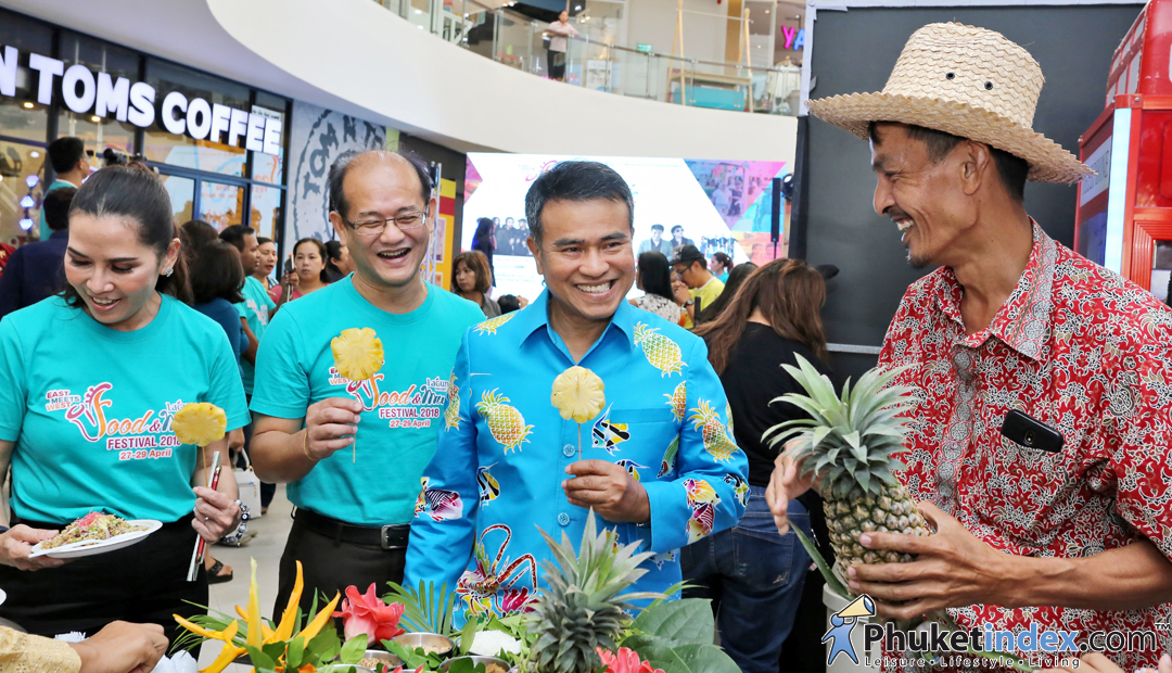 "Media conference ""Laguna Phuket Food & Music Festival 2018"""