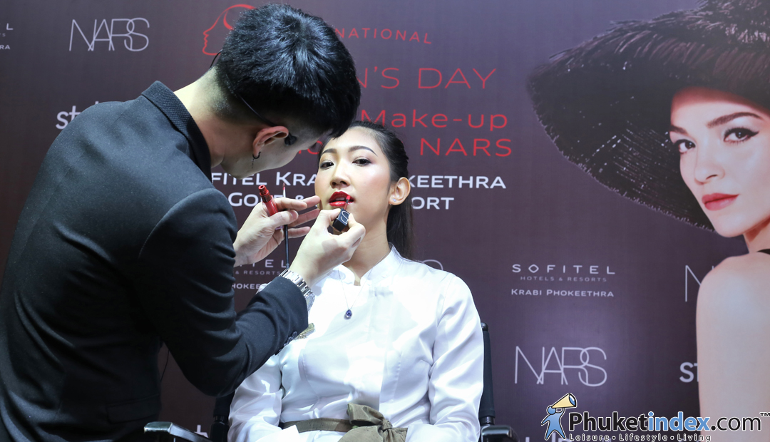 International Women's Day with NARS & Stylepro at Sofitel Krabi Phokeethra Golf & Spa Resort