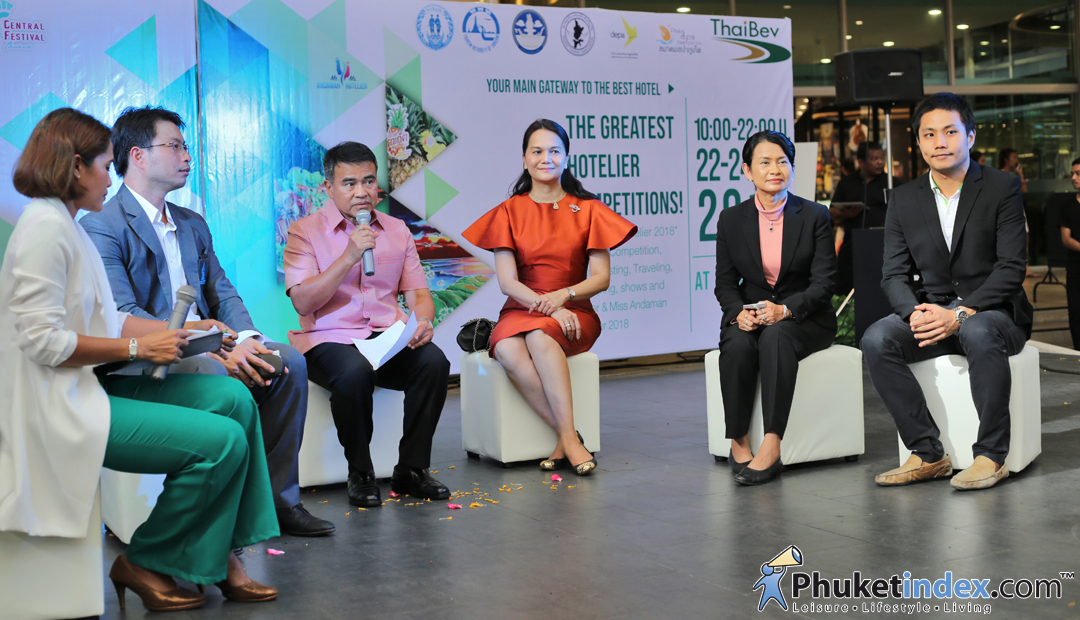 Press conference – Andaman Hotelier 2018