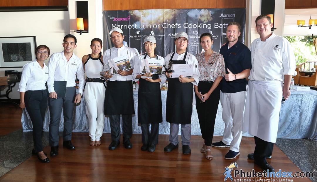 "21 Young & talented culinarians battle – ""Marriott junior chefs cook-off"""