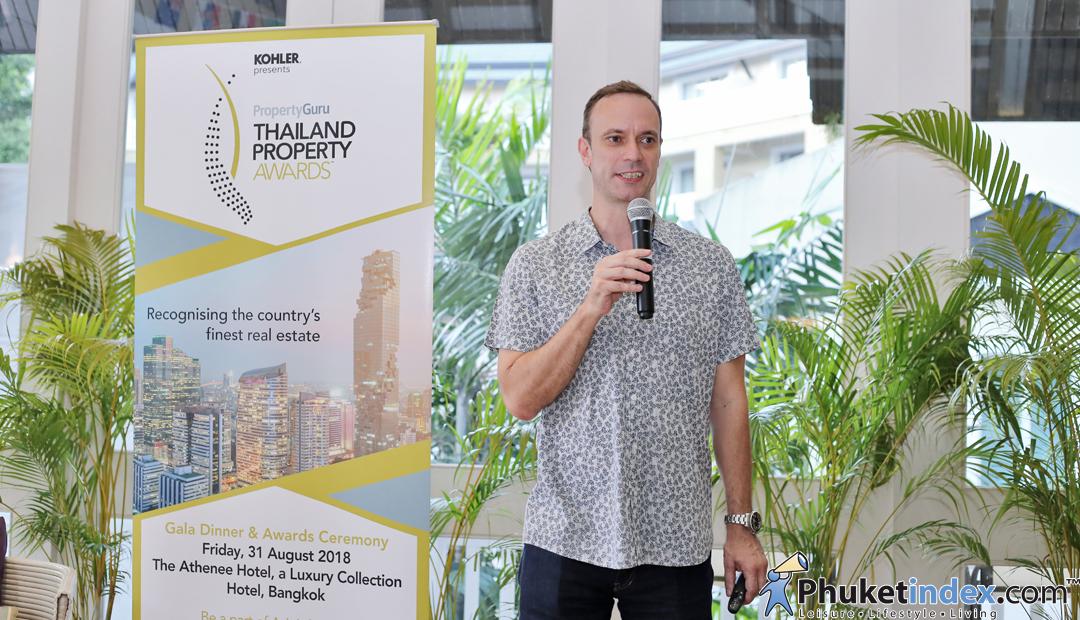 Thailand Property Awards 2018 Press Briefing @Angsana Laguna Resort