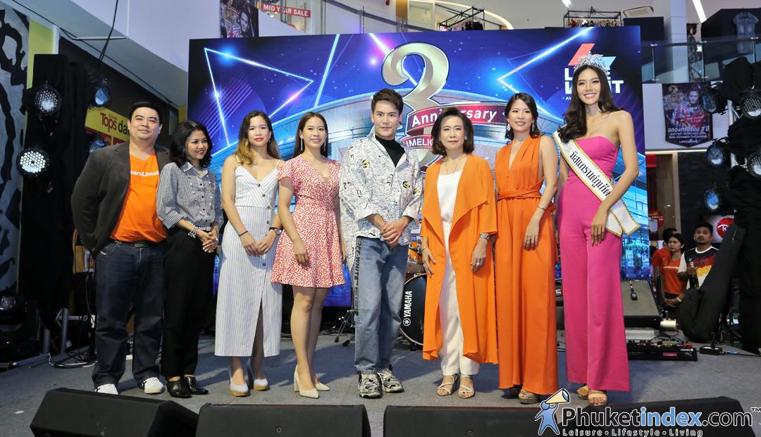 Celebrates 3rd Anniversary of Limelight Avenue Phuket