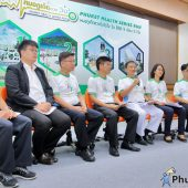 "Press conference ""Phuket Health Series Run"""