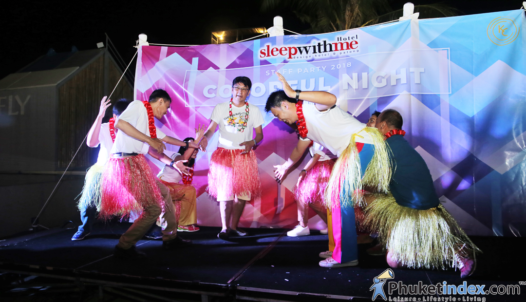 SLEEP WITH ME HOTEL – Colorful Night Staff Party 2018